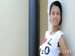 hottie is exposing on web camera