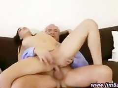 older chap fucking younger cutie