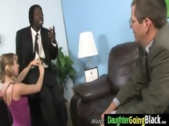 young daughter with admirable arse screwed by a