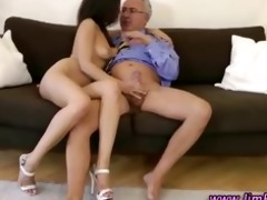mature guy fucking younger cutie