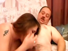 chunky dad fucking big beautiful woman