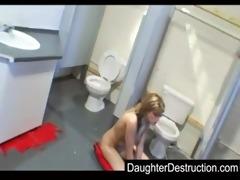 juvenile daughter screwed