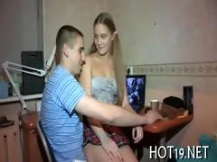 teenie double penetrated