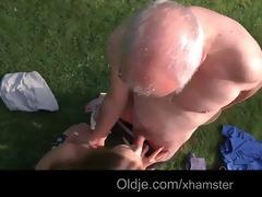 grandpapa cleans alexiss bald juvenile pussy