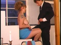 euro chick seduces younger lad - dbm episode