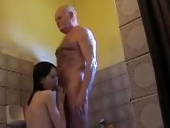 grandpapa is dirty