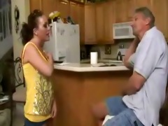 bad old dad drilled hawt daughter