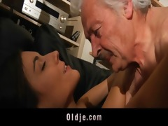 grand-dad fucking lustful youthful sweety