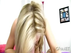 legal age teenager gal learns to deepthroat