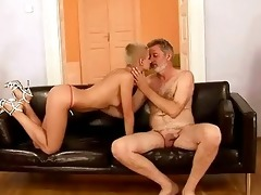 granddad bonks his juvenile girlfriend