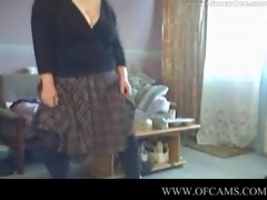 dancing big beautiful woman cook jerking