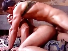 white strong muscle dad drilled raw
