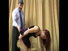 daughter+girlfriend are spanked 113