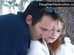 pigtailed legal age teenager daughter screwed hard