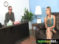 youthful daughter screamer bonks a dark pecker 51