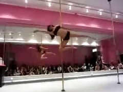 daughter pole dance, nonporn