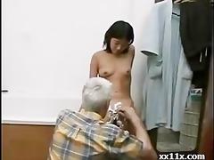 grandpapa and juvenile hotty