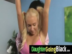 my daughter takes a real dark dick 91