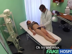 fakehospital student needs a full check up in